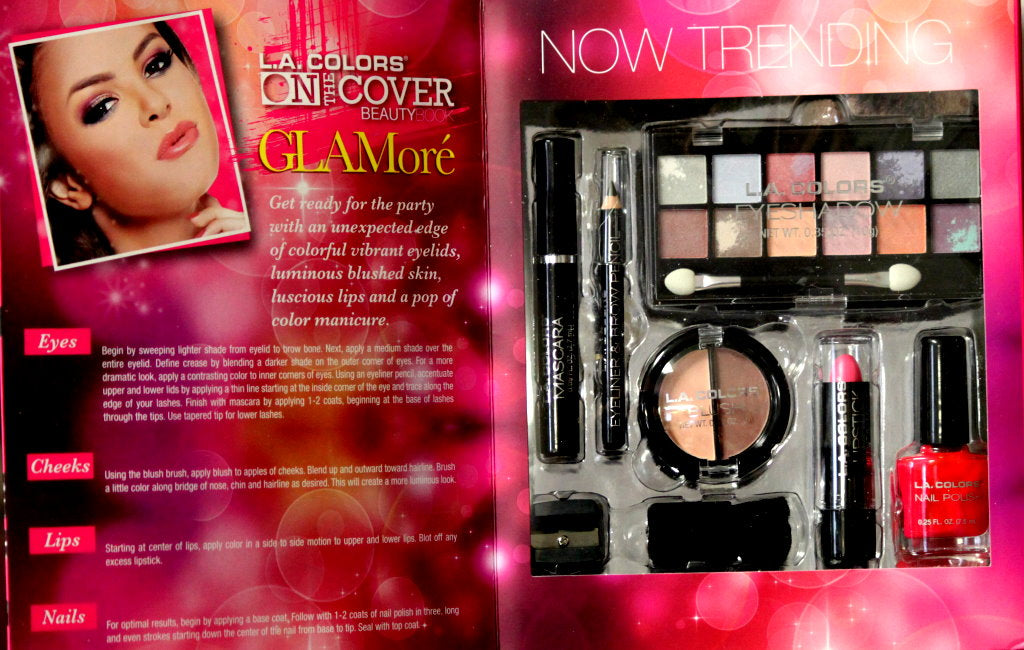 L.A. Colors On The Cover Beauty Glamore Gift Set
