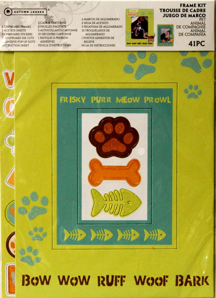 Autumn Leaves Pet Frame Kit