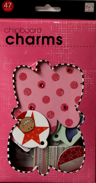 Me & My Big Ideas Chipboard Charms Embellishments
