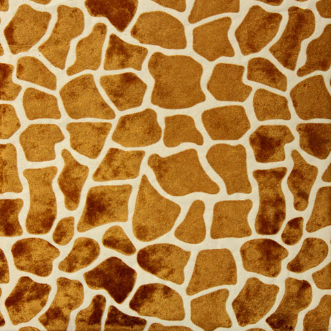 The Paper Studio Giraffe Flocked 12 x 12 Specialty Paper