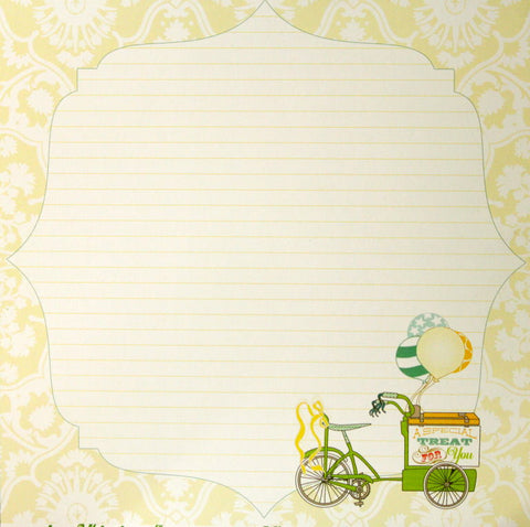 Webster's Pages Party Time A Wonderful Day 12 x 12 Cardstock Scrapbook Paper