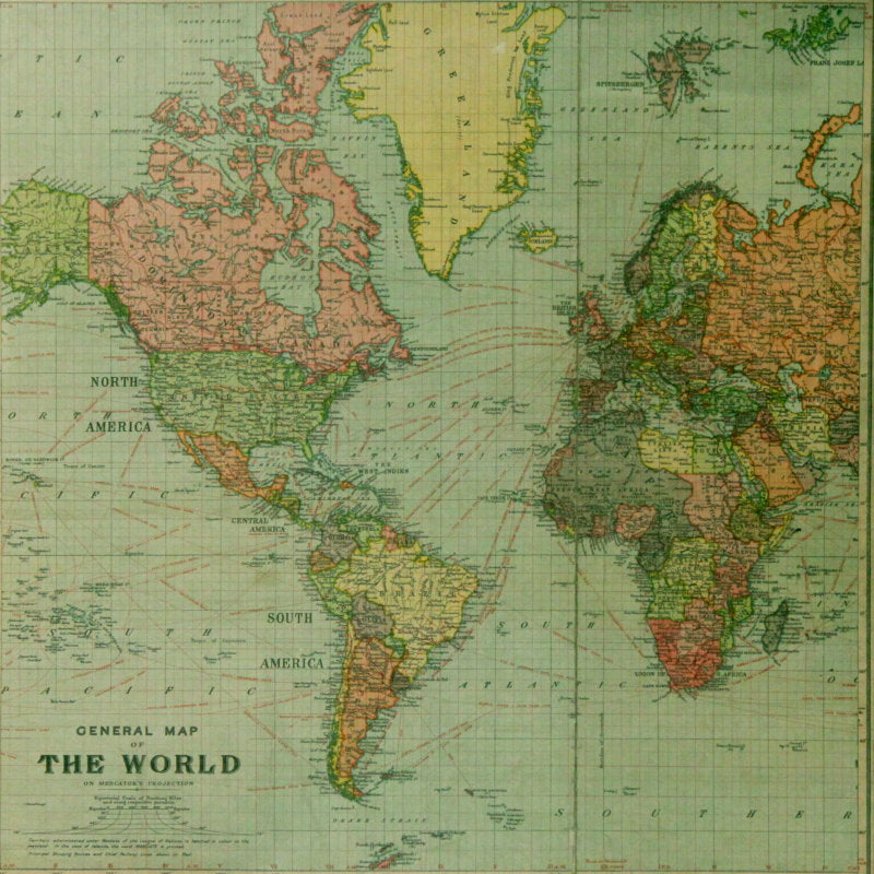 Tim holtz idea ology correspondence the world map 12 x 12 double tim holtz idea ology correspondence the world map 12 x 12 double sided cardstock gumiabroncs