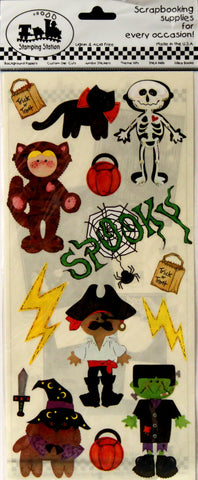 Stamping Station Halloween Scrapbook Stickers