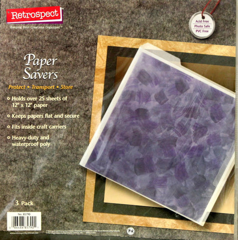Retrospect Paper Savers