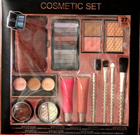 Walmart Cosmetic Set 27 Piece Collection Gift Set