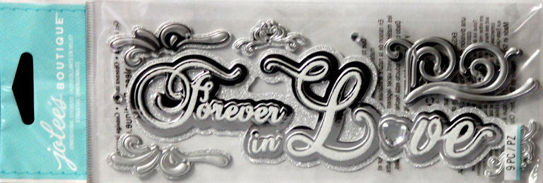 Jolee's Boutique Forever In Love Dimensional Stickers - SCRAPBOOKFARE
