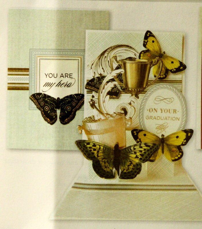 Anna Griffin Graduation Pop-up Card Making Kit