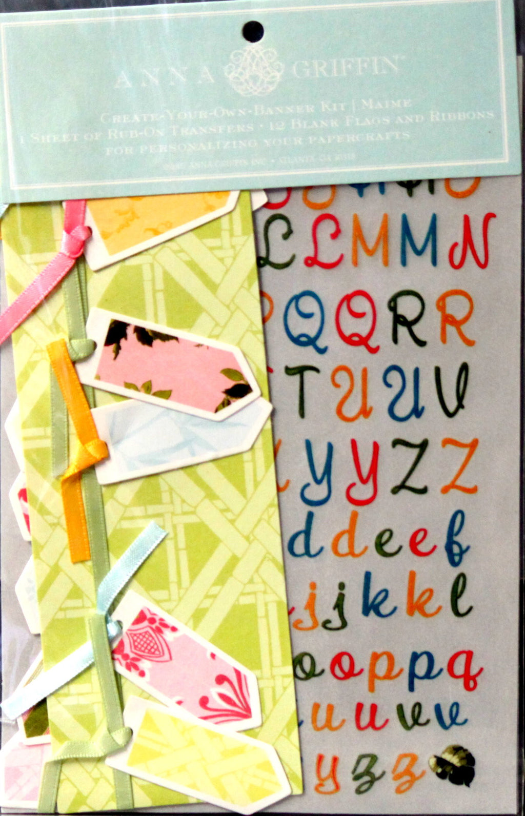 Anna Griffin Create Your Own Banner Kit/Maime - SCRAPBOOKFARE