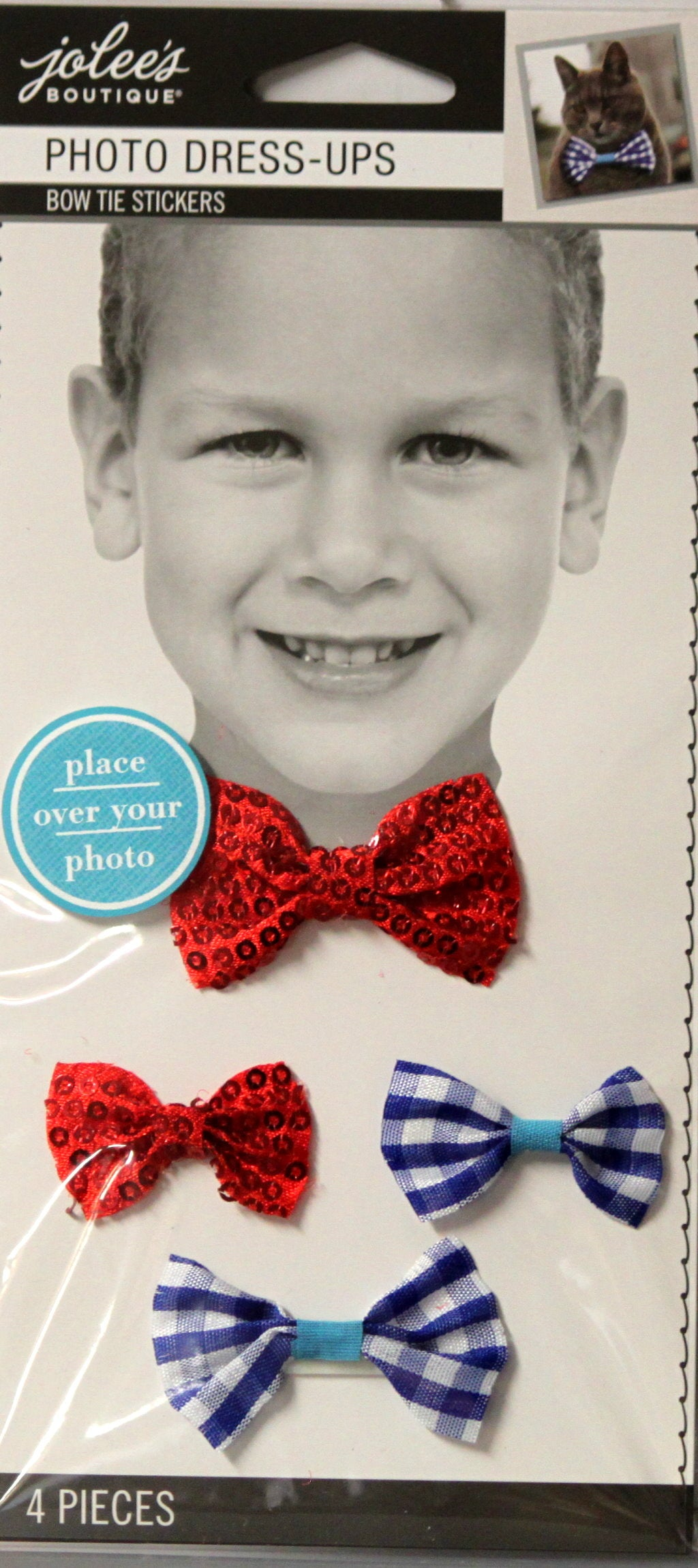 Jolee's Boutique Photo Dress-Ups Bow Ties Dimensional Scrapbook Stickers