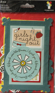 Imaginisce Girls Night Out Die-cuts