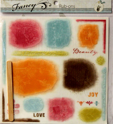 Fancy Pants Designs Fancy Chalked Rub-on Embellishments