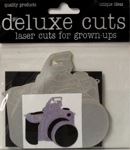 Deluxe Designs Deluxe Cuts Laser Cuts For Grown-ups Camera Die-Cut Embellishments