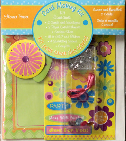Flower Power Card Making Kit
