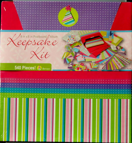 Westrim Crafts Birthday Keepsake 8 x 8 Scrapbook Kit