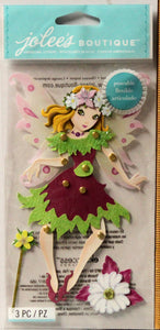 Jolee's Boutique Poseable Fairy Dimensional Stickers