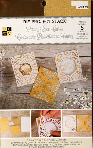 DCWV DIY Project Stack Pop-Up Cards Kit