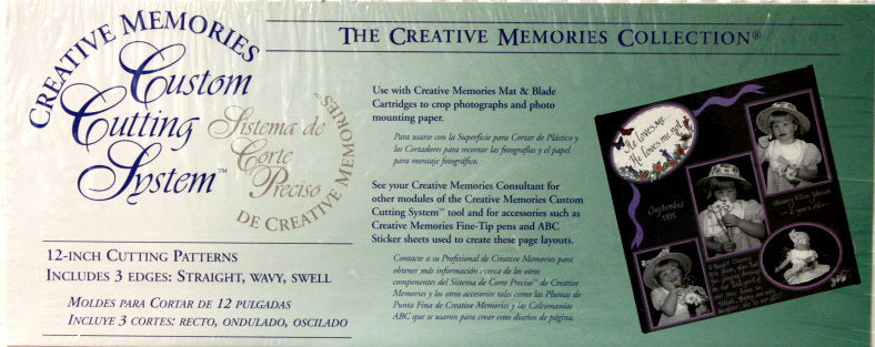 Creative Memories Custom Cutting System Scrapbookfare