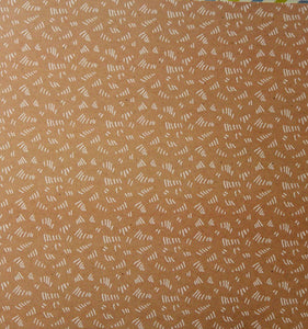 Anna Griffin 12 x 12 Best In Show Collection Squiggly Design Cardstock Scrapbook Paper