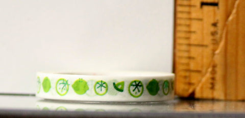Recollections Washi Tape Metallic Lime