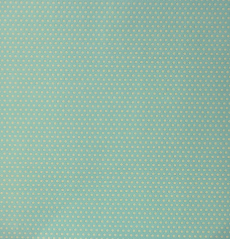 DCWV 12 X 12 Bohemian Sunrise Glossed Cream Dots Cardstock Scrapbook Paper
