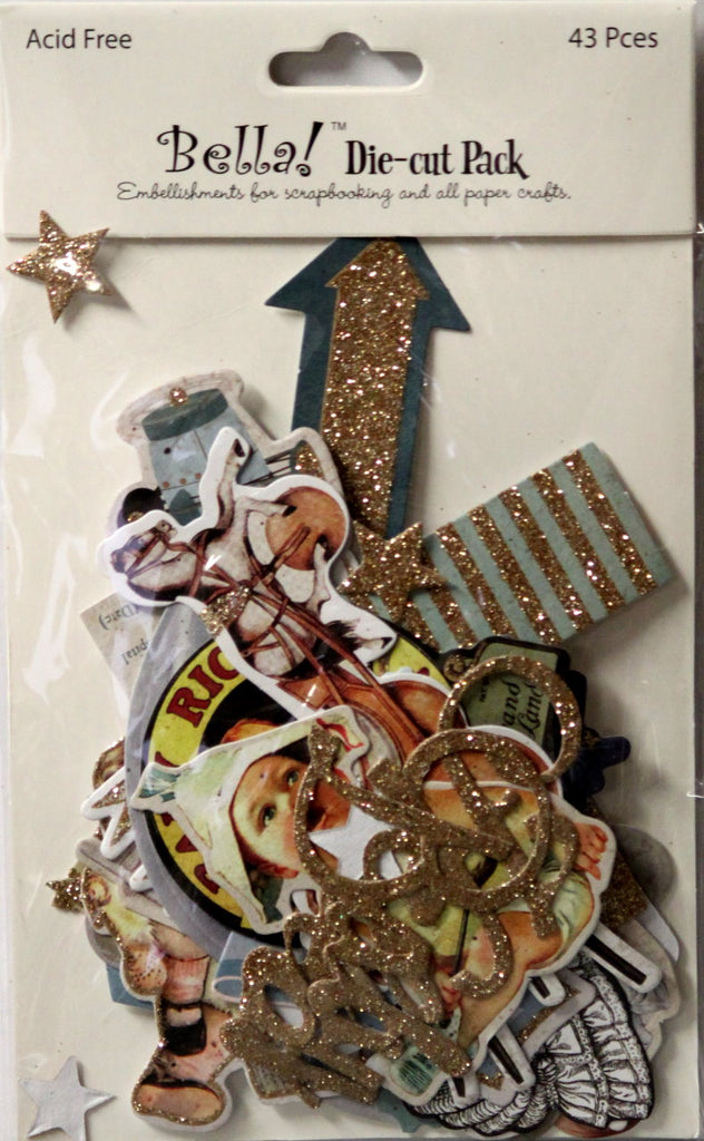 Bella! Baby Die-Cut Embellishments Pack