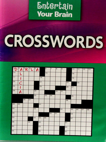 Entertain Your Brain Crosswords Puzzles Book