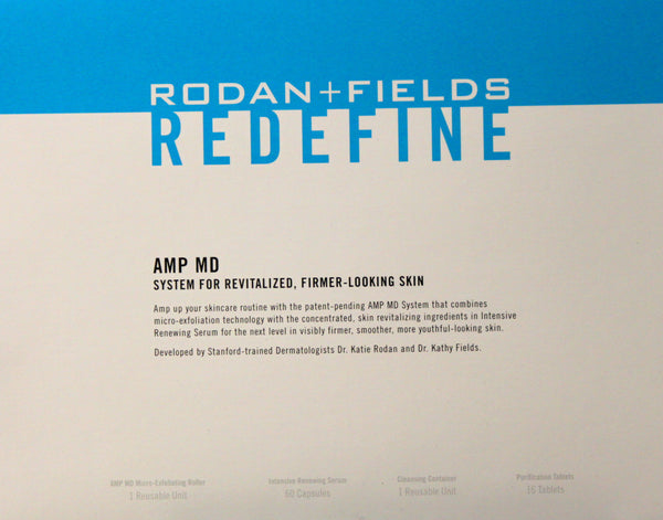 Rodan & Fields Redefine AMP MD System Kit – SCRAPBOOKFARE