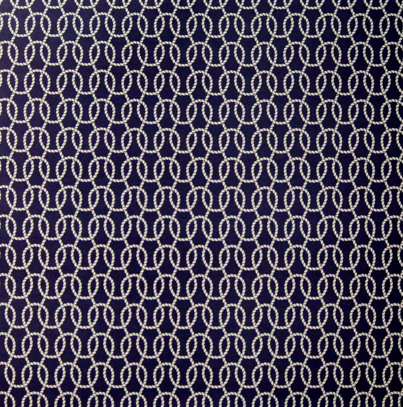 Anna Griffin 12 x 12 Seafarer Collection Sailor's Knot Design Cardstock Scrapbook Paper