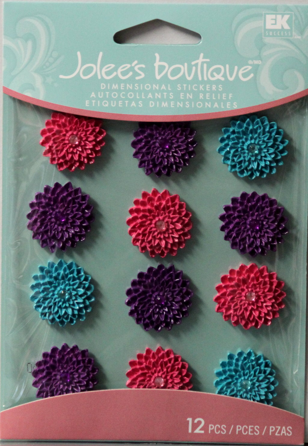 Jolee's Boutique Mums Cabochons Dimensional Stickers