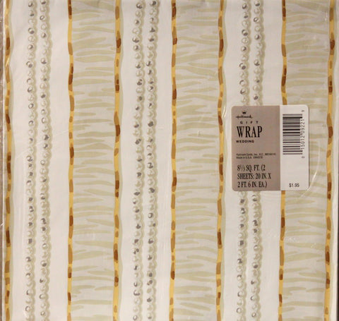Hallmark Wedding & Formal Gift Wrap Paper