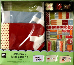 Making Memories 396 Piece Classic Mini Book Kit - SCRAPBOOKFARE
