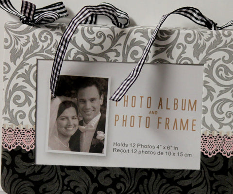 Wedding Chipboard Photo Album and Photo Frame Book
