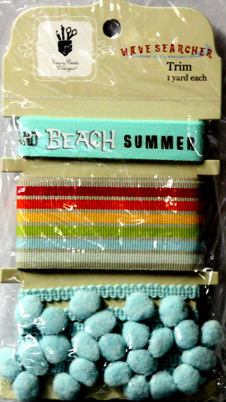 Fancy Pants Designs Wave Searcher Trim Embellishments