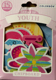Colorbok Seeds Of Youth Die-Cut Chipboard Embellishments