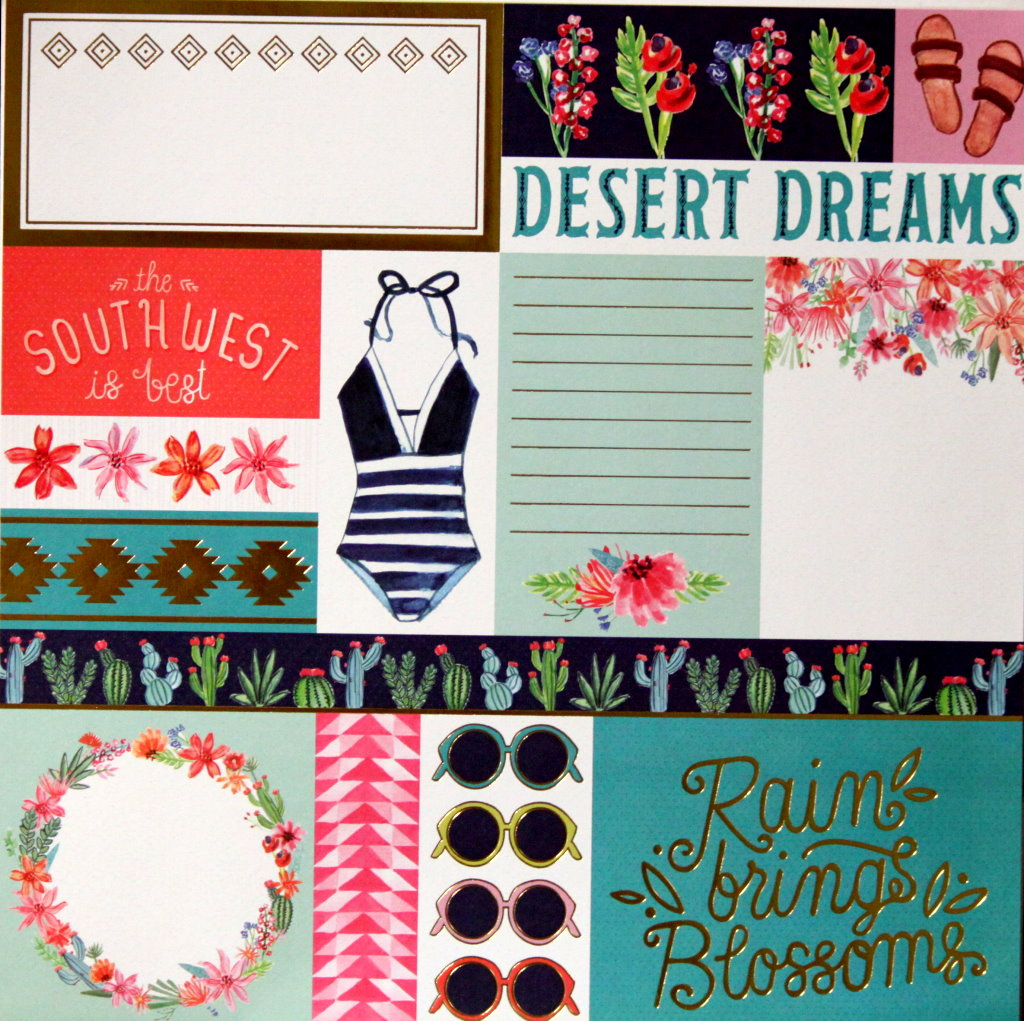 Craft Smith Santa Fe Garden Die-cuts