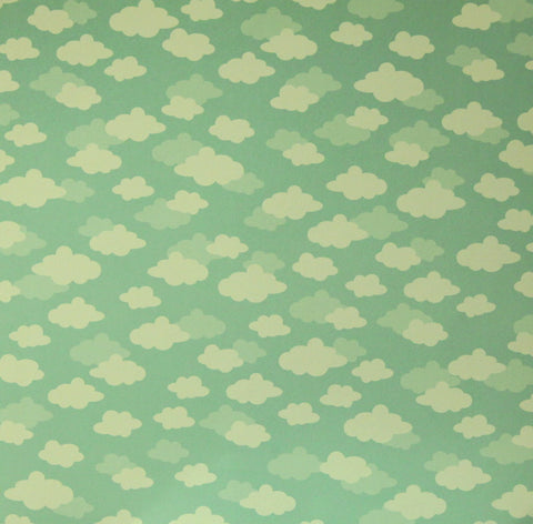 Pebbles 12 x 12 Spring Clouds Scrapbook Paper