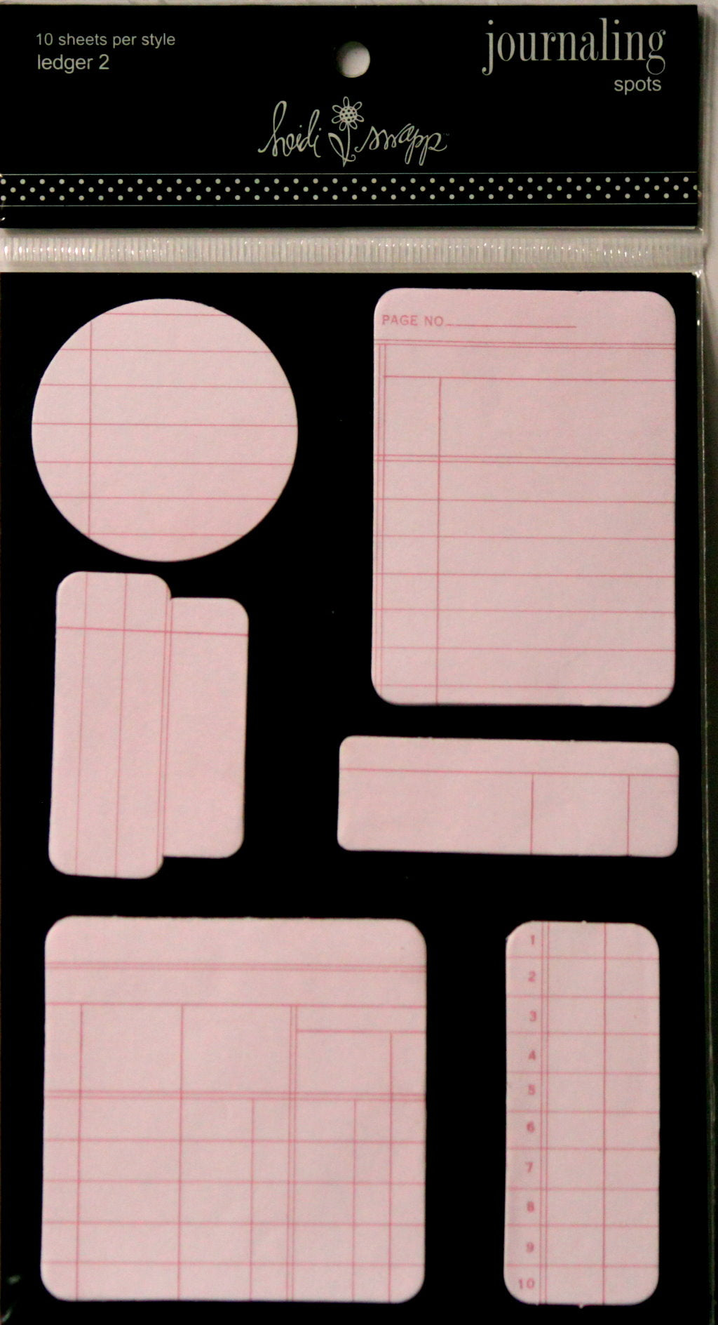 Heidi Swapp Ledger 2 Journaling Spots