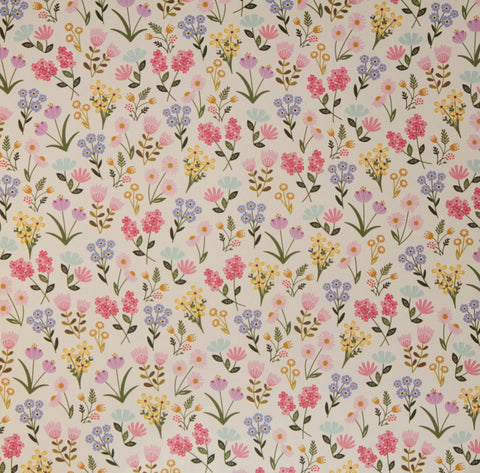 Pebbles 12 x 12 Spring Pretty Flowers Scrapbook Paper