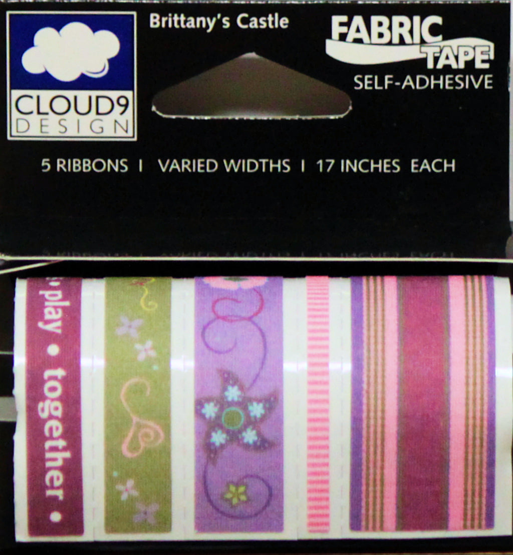Cloud 9 Design 5pc Ribbon Fabric Tape Brittany's Castle