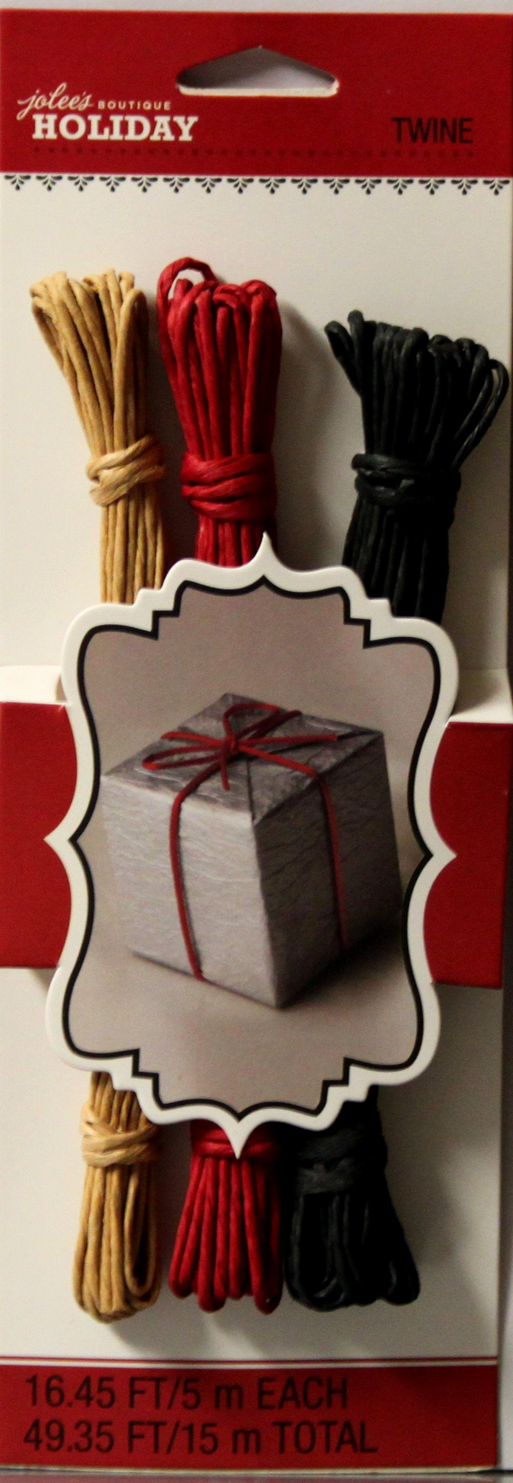 Jolee's Boutique Holiday Paper Twine Set
