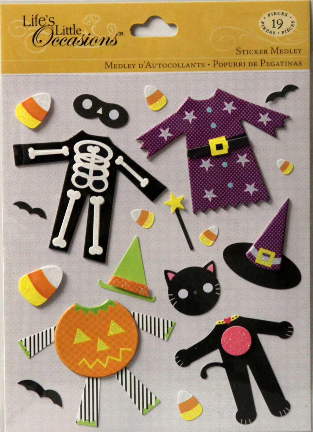 K & Company Life's Little Occasions Costumes Dimensional Sticker Medley