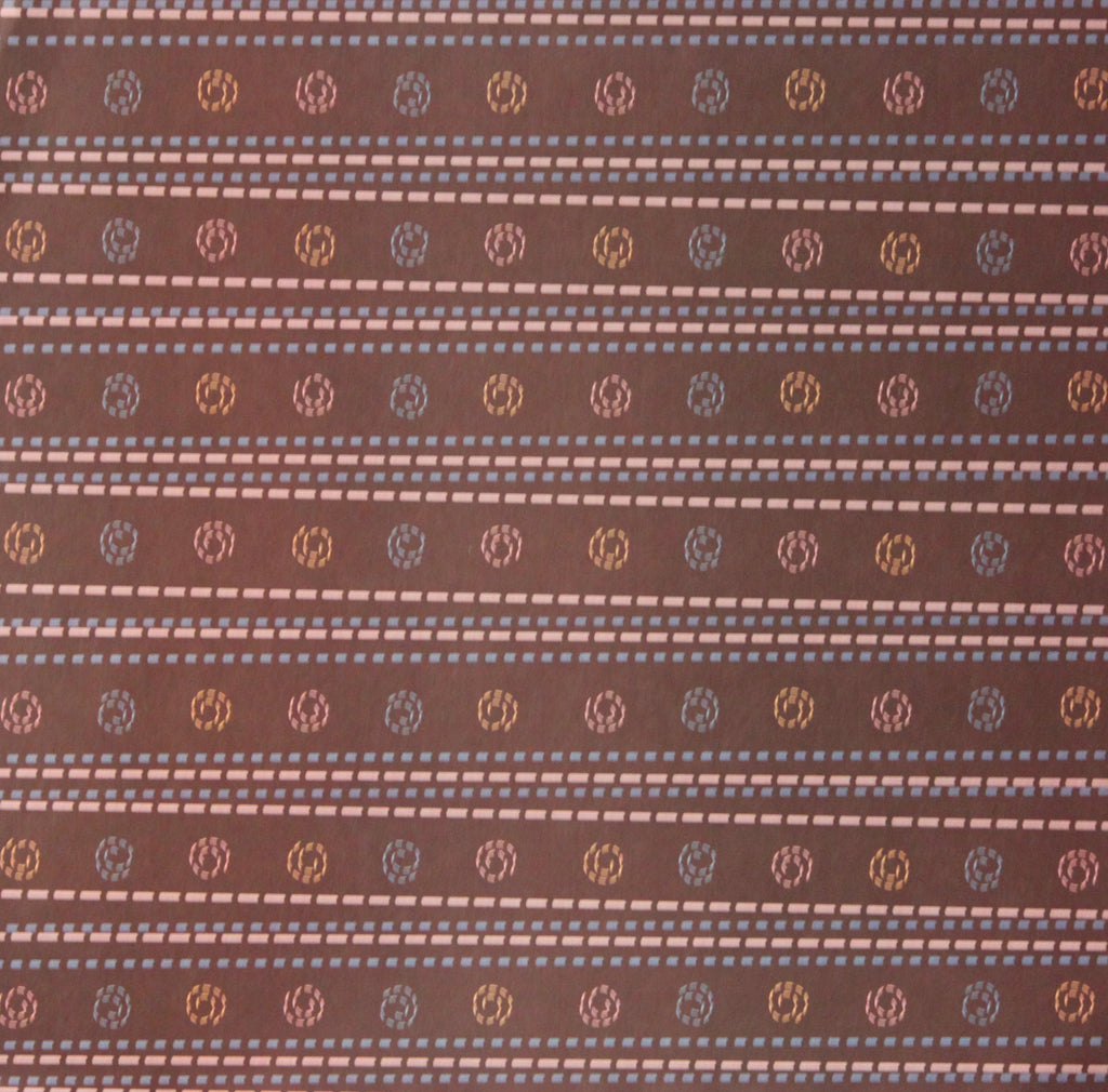 Nicole 12 x 12 Brown Swirls Scrapbook Paper
