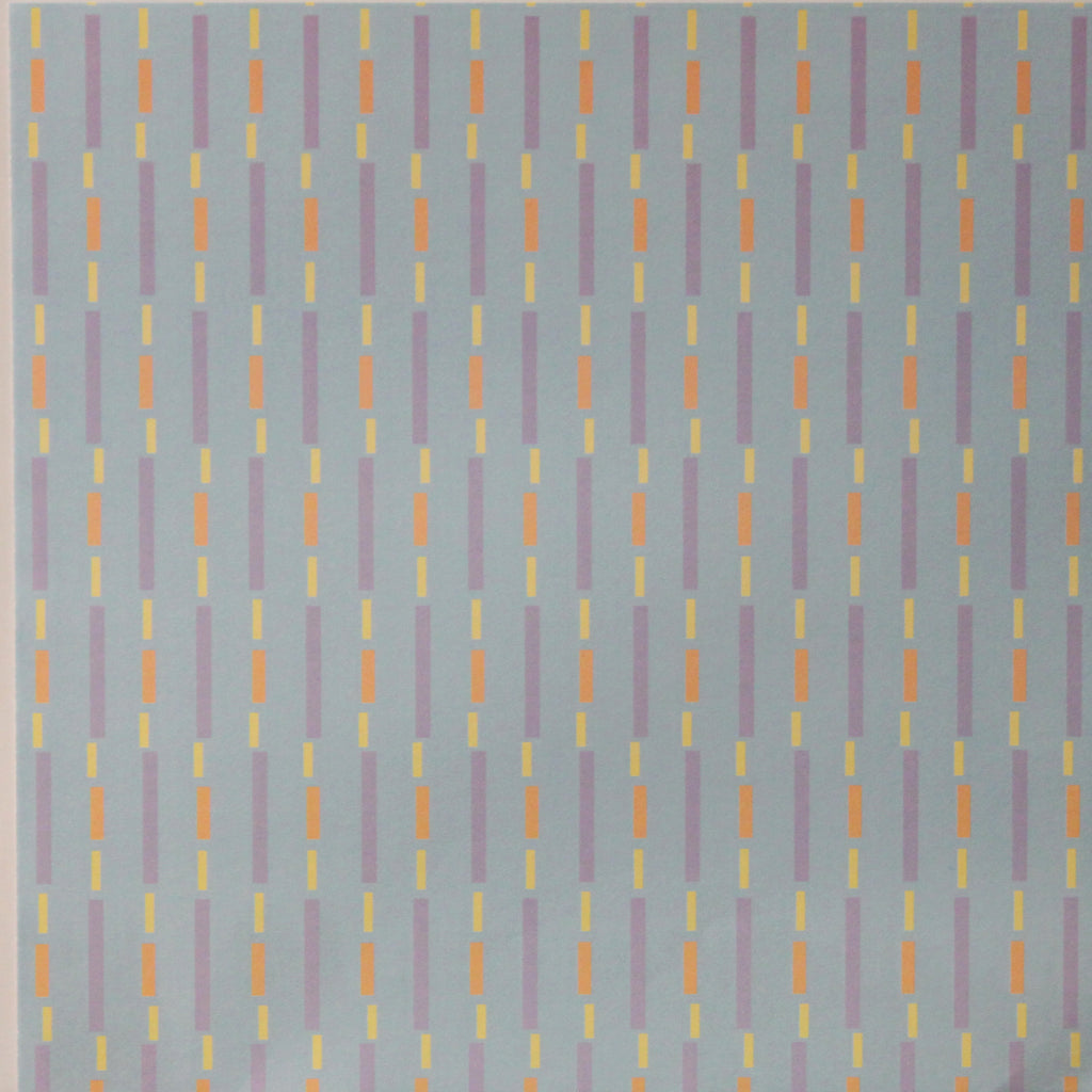 Nicole 12 x 12 Colored Dashes Scrapbook Paper
