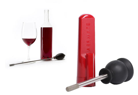 Aermate Full Bottle and Tabletop Wine and Spirits Aerator Bundle