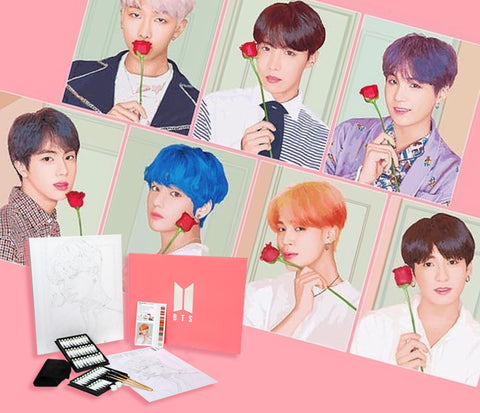 BTS Official DIY Painting