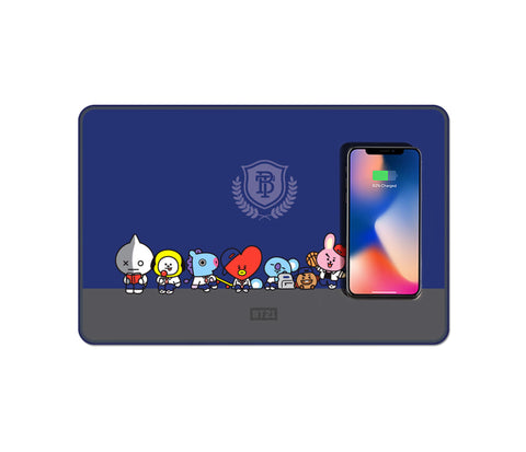 BT21 Wireless Charging Mouse Pad