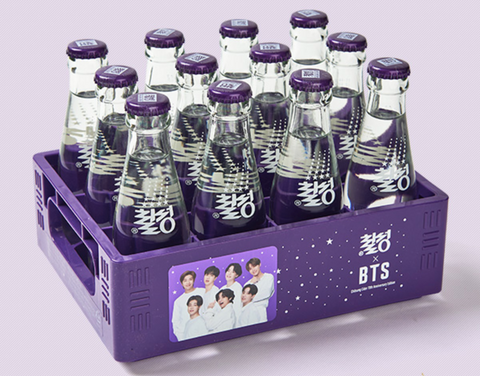 Brand New BTS Chilsung Cider Winter Edition (Very Limited Stock)