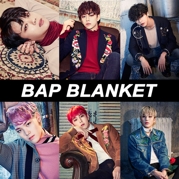 B.A.P Blanket(Group or Individual Member)