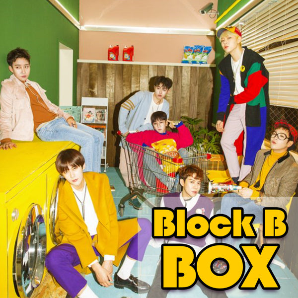 BLOCK B BOX(**LIMITED TIME OFFER**)
