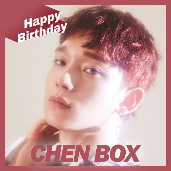 EXO Chen BOX(**LIMITED TIME OFFER**)